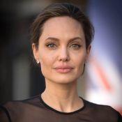 Angelina Jolie, ex de Brad Pitt, está pesando 34 kg após separação: 'Puro osso'