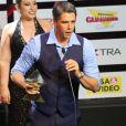 Márcio Garcia ganhou o prêmio de Melhor Apresentador pelo programa 'Tamanho Família'