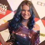 Lua Blanco voltará a ser loira após pintar cabelo de azul: 'Daqui a 2 semanas'