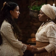 Tia Joaquina (Zezé Motta) adverte Juliana (Gabriela Moreyra) por enfrentar Maria Isabel (Thais Fersoza), no capítulo que vai ao ar na sexta-feira, dia 09 de dezembro de 2016, na novela 'Escrava Mãe'