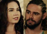 Novela 'A Terra Prometida': Adélia beija Temá depois de decidir se casar com ele