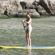 Grazi Massafera, que é mãe de Sofia, de quase 2 anos, fruto de seu relacionamento com Cauã Reymond, exibiu o corpo sequinho de biquíni na praia da Barra da Tijuca, Zona Oeste do Rio, nesta quarta-feira, 8 de janeiro de 2014