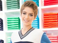 Isabella Santoni mudou o closet após raspar cabelo: 'Uso blusas ombro a ombro'