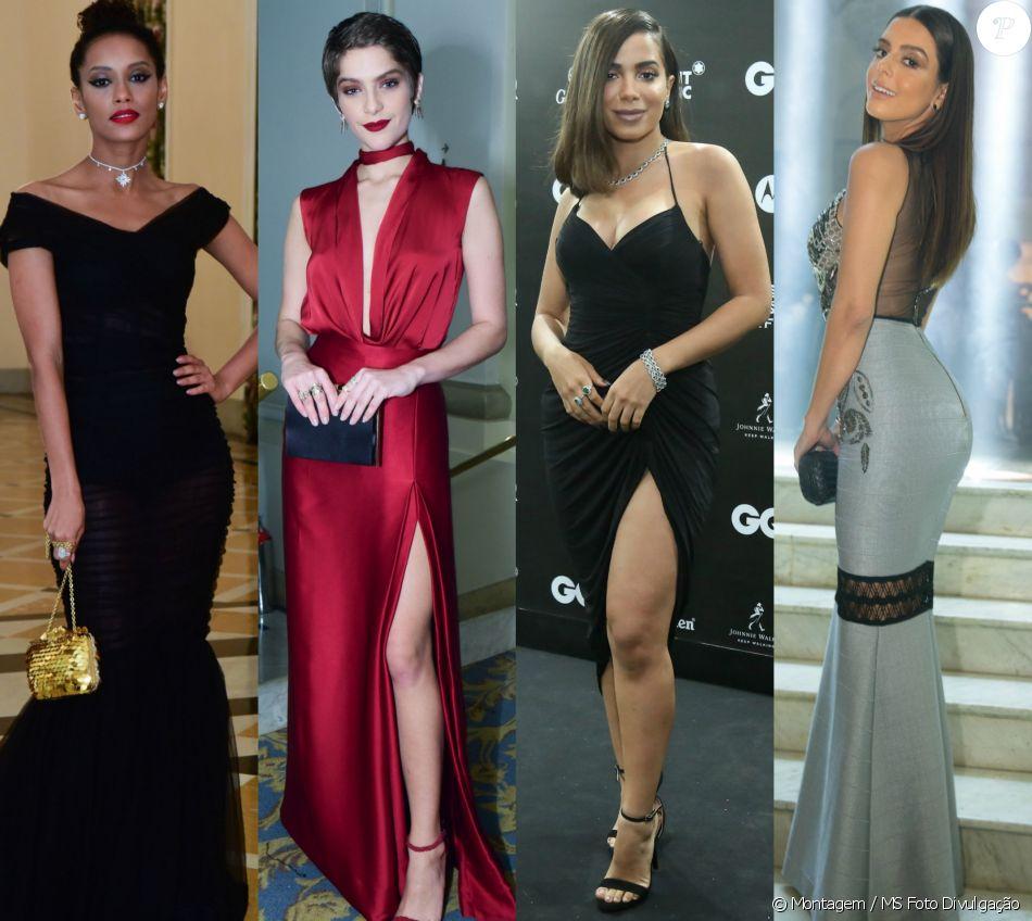 Veja os looks das famosas no prêmio 'GQ Men of the Year', no Copacabana Palace, em 1º de dezembro de 2016