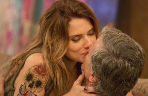 Novela 'Sol Nascente': Loretta beija Vittorio e Lenita o pede em casamento