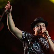 Wesley Safadão e Simone e Simaria cantam em festival com Caio Castro na plateia