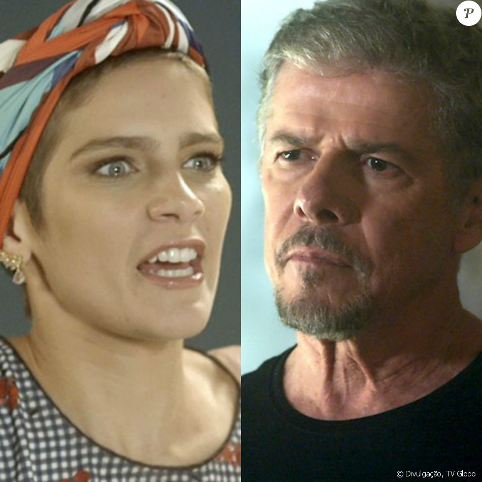 Letícia (Isabella Santoni) desmascara Tião (José Mayer) pelo atentado a Pedro (Reynaldo Gianecchini), nos próximos capítulos da novela 'A Lei do Amor': 'Te vi em ação!'