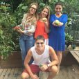 Giovanna Antonelli, Reynaldo Gianecchini,  Anisia Paula Henrique e Andréa Henrique vão inaugurar o Pomar Orgânico no dia 14 de janeiro
