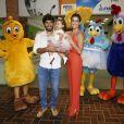 Deborah Secco e Hugo Moura recebem amigos na festa de 1 ano da filha, Maria Flor, em casa de festas no Rio de Janeiro
