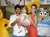 Deborah Secco e Hugo Moura comemoram 1º aniversário da filha, Maria Flor, no Rio