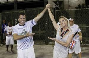 Já é Carnaval! Famosos, como Cris Vianna e Letícia Spiller, caem no samba