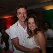 Fernanda Vasconcellos e Cássio Reis estão morando juntos na Zona Sul do Rio
