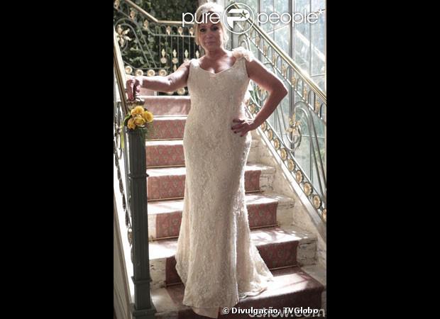 Vestido de casamento de Pilar (Susana Vieira)