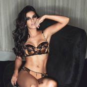Mariana Rios exibe a boa forma em campanha de marca de lingerie