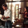 Aline (Vanessa Giácomo) tenta matar Ninho (Juliano Cazarré), que mesmo ferido, ainda consegue fugir com vida do galpão e pede socorro, em 'Amor à Vida', em 27 de janeiro de 2014
