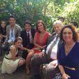 Klara Castanho se despede dos colegas de trabalho de 'Amor à Vida', em 28 de janeiro de 2014