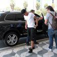 Neymar chega no Aeroporto de Congonhas, em São Paulo