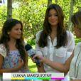 Bruna Marquezine e a irmã, Luana Marquezine, falam sobre a vida e o trabalho delas com Manoel Carlos no 'Vídeo Show'