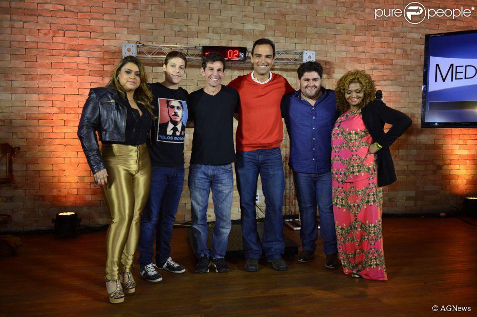 A TV Globo quer fazer uma nova edição do 'Medida Certa' com famosos no 'Fantástico'. A informação é do jornal 'Folha de S. Paulo' de 13 de fevereiro de 2014