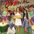Ana Furtado visita o projeto 'Carnaval Experience'