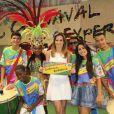 Ana Furtado é fã do Carnaval