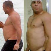 Ronaldo volta ao peso anterior ao 'Medida Certa'; veja fotos do antes e depois