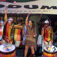 Daniela Mercury cantou com a banda Olodum na noite de terça-feira, 25 de fevereiro de 2014, em Salvador, na Bahia