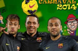 Neymar não é liberado pelo Barcelona para curtir o Carnaval: 'Jogos decisivos'