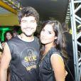 Guilherme Leicam e Camila Camargo curtem juntos Carnaval de Florianópolis, SC