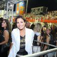 Juliana Knust aproveita carnaval de Florianópolis, Santa Catarina