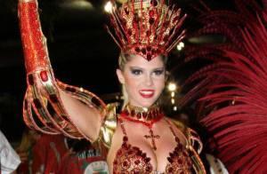 Bárbara Evans sobre ser rainha de bateria da Grande Rio:'Muita responsabilidade'