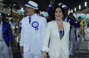 Gloria Pires sai na Portela após 13 anos afastada da escola: 'Saudades demais!'