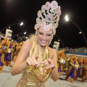 Ellen Rocche não usa fantasia no Desfile das Campeãs de SP: 'Se foi com a chuva'