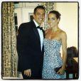 Carla Prata se arrumando para o casamento de Latino e Rayanne Morais, no Copacabana Palace, no Rio de Janeiro, na noite desta quarta-feira, 12 de março de 2014