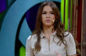 Bruna Marquezine dança funk no 'Vídeo Show' ao relembrar personagem de novela