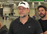 Russell Crowe chega ao Brasil para lançamento do filme 'Noé': 'Lugar fascinante'