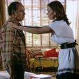 Virgílio tenta explicar para Helena que Luiza já disse que não quer nada com Laerte, mas ela não acredita e diz que eles estão se aproximando muito