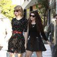 Taylor foi apontada como namorada da cantora Lorde