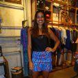 Ildi Silva no lançamento da coleção de inverno da Eva, marca feminina da Reserva, em Ipanema, no Rio de Janeiro, desta quarta-feira, 27 de março de 2014