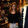 Apresentadora Mylena Ciribelli no lançamento da coleção de inverno da Eva, marca feminina da Reserva, em Ipanema, no Rio de Janeiro, desta quarta-feira, 27 de março de 2014