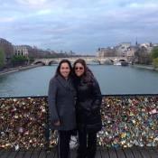 Daniela Mercury e Malu Verçosa passam lua de mel em Paris após 1 ano. Fotos!