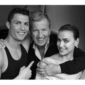 Cristiano Ronaldo e a namorada, Irina Shaik, posam juntos para 'Vogue' espanhola