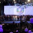 """Festa """"Vem Aí"""", da Globo, reúne famosos para apresentar a nova programação da emissora"""