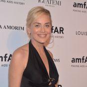 Sharon Stone e Kate Moss prestigiam baile beneficente da amfAR, em SP