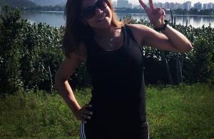 Nivea Stelmann volta a se exercitar 15 dias após o parto: 'Vamos com tudo'