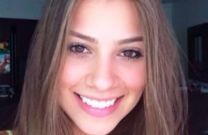 Gabriella Lenzi, modelo apontada como namorada de Neymar, viaja para Barcelona