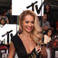 Rita Ora no tapete vermelho do MTV Movie Awards