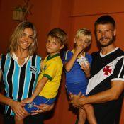 Fernanda Lima e Rodrigo Hilbert festejam aniversário de 6 anos dos gêmeos no RJ