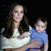 Kate Middleton diz que príncipe George engordou durante viagem pela Austrália