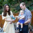 A família real está em turnê pela Oceania